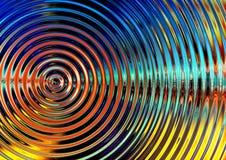 radial wave Στοκ φωτογραφίες με δικαίωμα ελεύθερης χρήσης