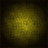 Radial yellow rectangular background. Eps10 Stock Photography