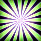Radial zoom burst Stock Photo