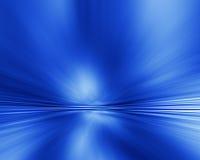 Radiale abstracte blauwe achtergrond Royalty-vrije Stock Fotografie