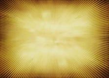 Radiale golf oranje achtergrond stock illustratie
