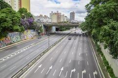 Radiale Leste - Sao Paulo SP Brazilië stock afbeelding
