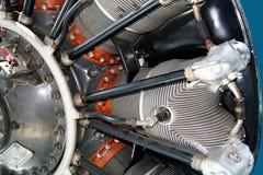 Radiale motor van een vliegtuig Royalty-vrije Stock Fotografie