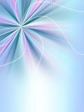 Radialregenbogenauszugshintergrund mit glänzenden Streifen Stockfotografie