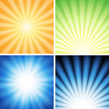 Radiance Background Set Royalty Free Stock Image