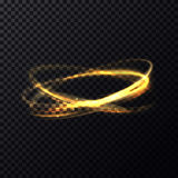 Radiance or luminosity of crossed rings and circles Royalty Free Stock Photo