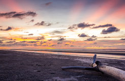 Radiance of Pantai Mukah Royalty Free Stock Photos