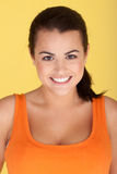 Radiant Beautiful Smile Stock Photo