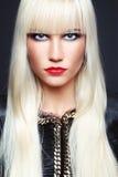 Radiant blonde Royalty Free Stock Photo