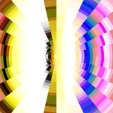 Radiant colorful design Stock Photo