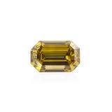 Radiant cut beryl gemstone. Stock Photos