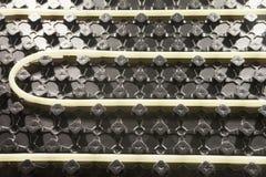 Radiant Floor Heating Systems. Heated Floors - Radiant Floor Heating Systems Stock Images