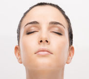 Radiant glowing skin Royalty Free Stock Images