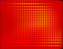 Radiant Halftone in Red Stock Images