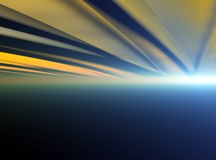 Radiant Horizon Stock Image