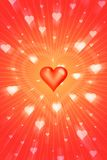 Radiant love Royalty Free Stock Photo