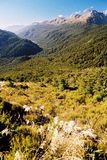 Radiant mountain scenery Royalty Free Stock Photo