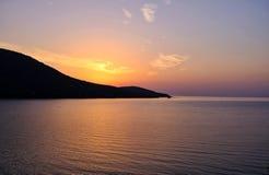 Radiant Orange Sunrise, Greece