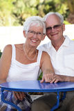 Radiant senior couple Royalty Free Stock Images