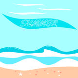 Radiant summer background Royalty Free Stock Images
