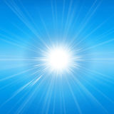 Radiant sunshine Stock Images