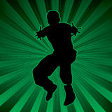 Radiate activegreen Stock Photo