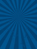 Radiate mottled. Abstract mottled blue background with a radiating design Stock Image