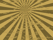 Radiate mottled gold. Abstract mottled background in gold and brown with an aged effect Stock Photo