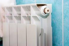 Radiateur blanc Photographie stock libre de droits