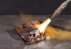 Radiateur de fonte Photographie stock libre de droits