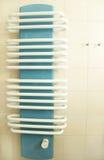 Radiateur de salle de bains photo libre de droits