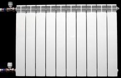 Radiateur en aluminium blanc Photo libre de droits