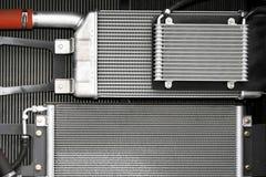 radiateurs de refroidissement photographie stock