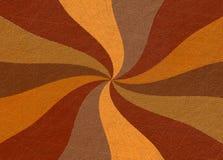 Radiating colored orange rays vintage background Stock Images