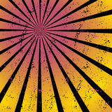 Radiating, converging lines, rays. Bright star burst, sunburst background Royalty Free Stock Photo