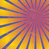 Radiating, converging lines, rays. Bright star burst, sunburst background Stock Photography