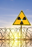 Radiating danger Stock Photography