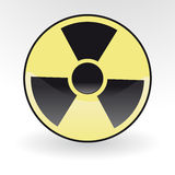 Radiation. Collection of vector illustrations of radiation Royalty Free Stock Photos