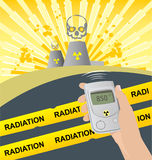 Radiation Stock Photo