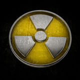 Radiation Alert sign isolated Stock Photos