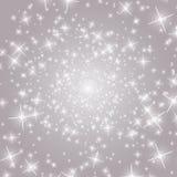 Radiation background Sparkle depth Royalty Free Stock Photo