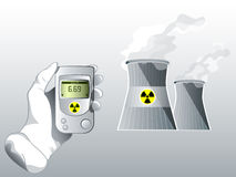 Radiation care Stock Photography