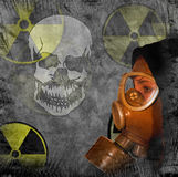 Radiation danger Stock Photography