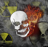 Radiation danger Royalty Free Stock Image