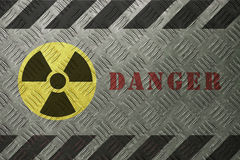 Radiation Danger Stock Images