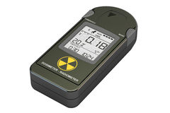 Radiation Dosimeter Closeup, 3D Stock Photography