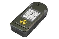 Radiation dosimeter closeup, 3D stock illustration