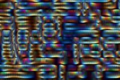 Radiation Feedback Abstract Stock Image