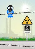 Radiation hazard Royalty Free Stock Photo