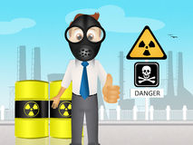 Radiation hazard Royalty Free Stock Image